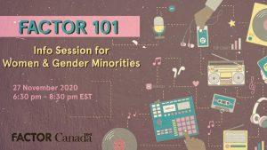 FACTOR 101: Info Session for Women & Gender Minorities